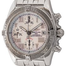 Breitling Chrono Cockpit Steel 39mm Mother of pearl Roman numerals United States of America, Texas, Austin