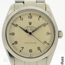 Rolex 6552 Steel 1947 Air King 34mm pre-owned