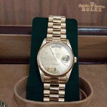 Rolex Day-Date 36 neu 1990 Automatik Uhr mit Original-Box und Original-Papieren 18238