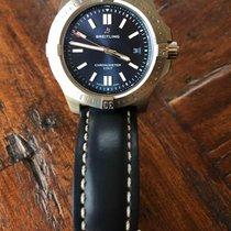 Breitling Chronomat Colt Acier 44mm Bleu Sans chiffres