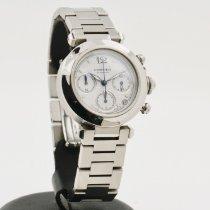 Cartier Pasha C Steel 36mm White No numerals