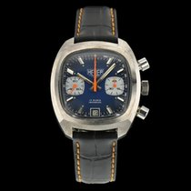 Heuer Steel 38mm Automatic 741-1 pre-owned
