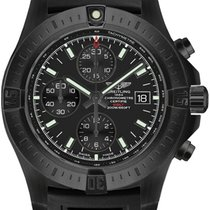 Breitling Colt Chronograph Automatic Steel 44mm Black No numerals United States of America, New York, New York