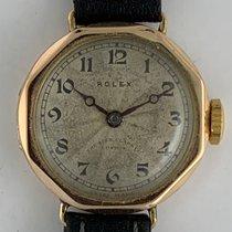 Rolex Rolex Art Deco Octagonal 9K Gold Swiss Made 1917 usados