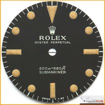 Rolex Dial Submariner ref 5512-5513 old Patina 200m First