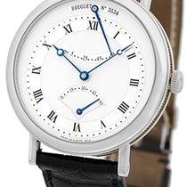 """Breguet """"Classique Retrograde Seconds"""" Strapwatch."""