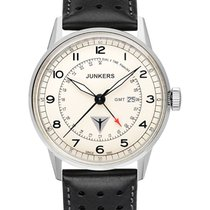 Junkers Steel Quartz Champagne 42mm new G38