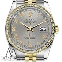 Rolex Lady-Datejust Acero y oro 31mm Gris Romanos