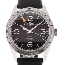 Bell & Ross Vintage 42mm Automatic GMT