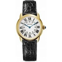 Cartier Ronde Solo de Cartier Yellow gold 29.5mm Silver Roman numerals United States of America, Pennsylvania, Holland