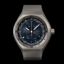 保時捷 MONOBLOC Actuator GMT-Chronotimer Titanium Blue