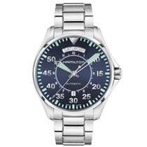 Hamilton Khaki Aviation Pilot Day Date Auto H64615145