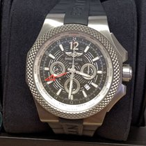 Breitling Bentley GMT Titanio 49mm Gris Sin cifras