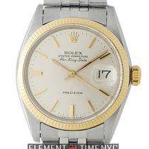 Rolex Oyster Perpetual Vintage Air-King Date Steel &...