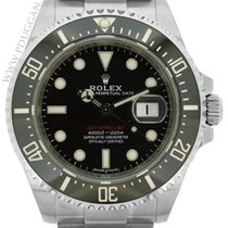 Rolex stainless steel ceramic Red Sea-Dweller