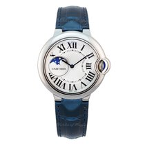 Cartier Ballon Bleu Acero 37mm Plata