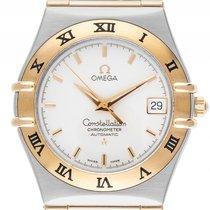 Omega Constellation Stahl Gelbgold Automatik Armband Stahl...