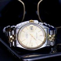 Rolex DATEJUST 1601 GOLD STEEL 1968