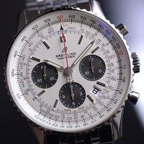 Breitling Navitimer 1 B01 43 Steel Mercury Silver #AB0121211G1A1