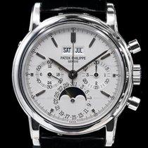 Patek Philippe 3970P Perpetual Calendar Chronograph Platinum...