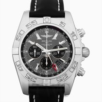 Breitling Chronomat GMT Acero 47mm Negro