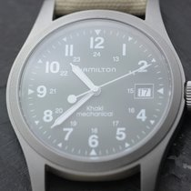 Hamilton Steel 38mm Manual winding Khaki pre-owned