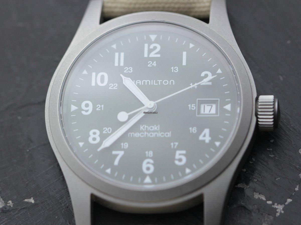 9682732cce6 Relógios Hamilton usados - Compare os preços de relógios Hamilton usados