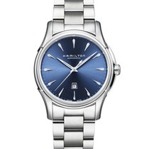 Hamilton Jazzmaster Viewmatic Steel 34mm Blue