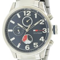Tommy Hilfiger Jackson Stainless Steel Chronograph Mens Watch