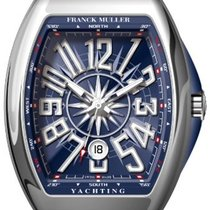 Franck Muller Steel Automatic Blue 54mm new