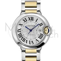Cartier Ballon Bleu 42mm Acero y oro 42mm Plata