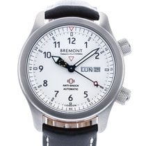 Bremont Steel 43mm Automatic MBIIOr-WH pre-owned United States of America, Georgia, Atlanta