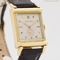 Mathey-Tissot Yellow gold 25mm Manual winding pre-owned