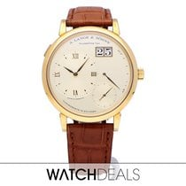 A. Lange & Söhne Yellow gold Manual winding White Roman numerals 41mm new Grand Lange 1