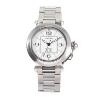 Cartier Steel 35mm Automatic Pasha pre-owned