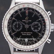 Breitling Navitimer pre-owned 43mm Black Chronograph Date Steel