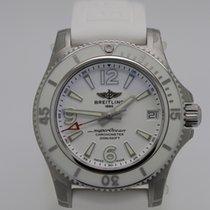 Breitling Superocean Acero 36mm Blanco