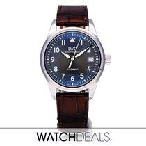 IWC Pilot's Watch Automatic 36 Acero 36mm Gris Árabes