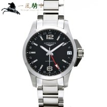 Longines Steel 41mm Automatic L3.687.4.56.6 pre-owned
