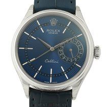 Rolex Cellini Date White gold 39mm Blue United States of America, New York, New York