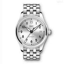 IWC Pilot's Watch Automatic 36 Steel 36mm Grey Arabic numerals United States of America, California, Newport Beach