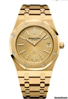 847d2b80dd37c Audemars Piguet AP Royal Oak Extra-thin 18K Yellow Gold for  55