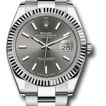 Rolex Datejust Dark Rhodium Dial 126334 dkrio