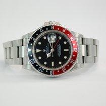 """Rolex GMT-Master II Stainless Steel """"Coke"""" Bezel - 16760"""