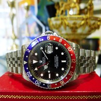 Rolex Gmt Master  Ref:16700 Stainless Steel Blue Red Pepsi...