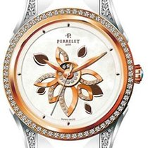Perrelet A3017.A Diamond Flower - Rose Gold Bezel in 2-Tone -...