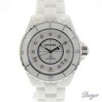 Chanel J12 White Ceramic Diamonds NEW