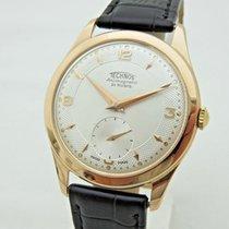 Technos in oro rosa 18 kt carica manuale orologio uomo 36 mm...