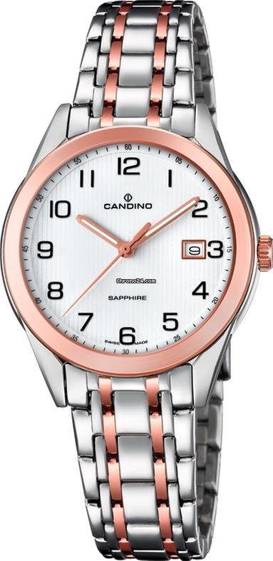 Candino Elegance Flair C46171 Damenarmbanduhr Swiss Made