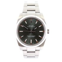 Rolex Oyster perpetual olive color dial